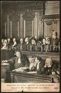 Postcard / Marguerite Steinheil / Devant La Cour D'Assises / Ed. E. L. D. Photo Branger - Bagne & Bagnards