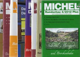 MICHEL 8 Verschiedene Briefmarken Rundschau Neu 40€ New Stamps Of The World Catalogue And Magacine Of Germany - Pin's & Anstecknadeln