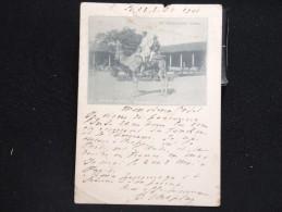 """INDE - BOMBAY - CP Voyagée 1901 """"A Messenger Camel"""" """" - Lot N° 10036 - Inde"""
