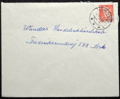Denmark 1955 Letter     Minr.334 NØRRE SALTUM   ( Lot 5936  ) - Danemark