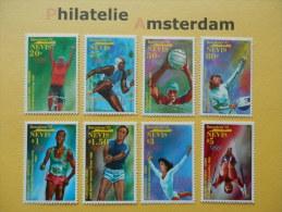 Nevis 1992, OLYMPICS BARCELONA: Mi 659-66, ** - Zomer 1992: Barcelona