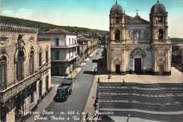catania zafferana etnea: municipio e via garibaldi autocarro fiat
