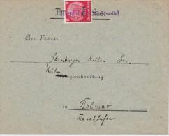 ALSACE  LETTRE DE KIENZHEIM - Alsace-Lorraine