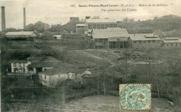 SAINT PIERRE MONTLIMART(MAINE ET LOIRE) MINES DE LA BELLIERE(MINE D OR) - France