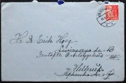 Denmark 1942    Letter     Minr.202 II   JÆGERPRIS 15-6-1942   ( Lot 5965  ) - Covers & Documents