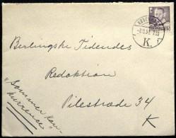 Denmark 1951    Letter     Minr.303a   ( Lot 5963  ) - Danemark