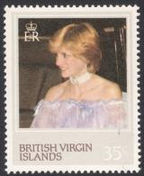 British Virgin Islands, 35 C. 1982, Sc # 431, MNH, Princess Diana - British Virgin Islands