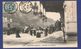 HHH - CPA - MONACO - 779 - MONTE-CARLO - ENTREE DU CASINO - - Casino