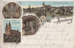 Litho Gruss Aus Arenberg Gel. 26.7.04 - Deutschland