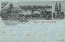 Litho Gruss Aus Coblenz Gel. 28.4.99 - Koblenz