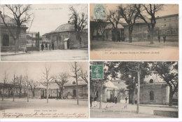 AVIGNON - 4 CPA Animées - La Caserne Saint Roch (Ancienne Caserne Des Pontonniers) .. (82626) - Avignon