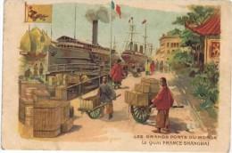 Cromo   SHANGHAI Les Grands Ports Du Monde - Cromos