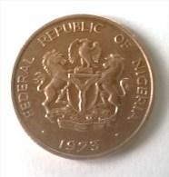 Monnaies - Nigeria - 1 Kobo 1973 - Superbe - - Nigeria