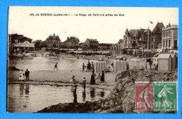 T164, Le Croisic, La Plage De Port-Lin, Animée, 192, Circulée 1923 - Le Croisic