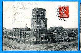 T177, Zuydcoote, Le Sanatorium, Nord - Pas-de-Calais, Circulée 1908 - Altri Comuni