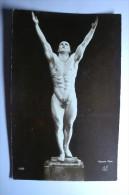 Nu Masculin - Homme Nu Avec Feuille De Vigne - Henry Phot. - érotique - 199 - Vintage Men < 1945
