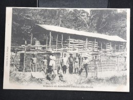 """COTE D'IVOIRE - CP """" Briqueterie Des Missionnaires D'Aboisse """" - Lot N° 10055 - Côte-d'Ivoire"""