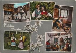 4641.   Folclore Carnico - Stella Alpina - Edelweiss - Vedute - Multi Vues - 1963 - Monfalcone - Non Classés