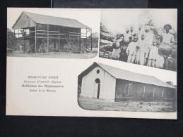 """NIGER - CP """" Station D'Isselé : Eglise,habitation Des Missionnaires,début De La La Miussion"""" - Lot N° 10058 - Niger"""