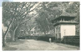 Vintage Ceylon Temple Square, Kandy, Plate Ltd. Pc Unused - Sri Lanka (Ceylon)