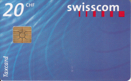 SWITZERLAND - Swisscom Logo 20 CHF, chip GEM2.3, exp.date 07/99, used