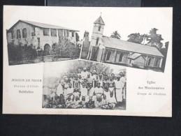 "NIGER - CP "" Eglise, Habitation "" - Lot N° 10062 - Niger"