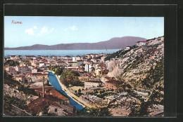AK Fiume, Blick über Den Ort - Croatie