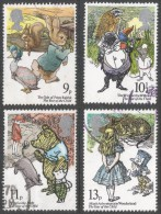 Great Britain. 1979 International Year Of The Child. Children's Book Illustrations. Used Complete Set. SG 1091-1094 - Used Stamps