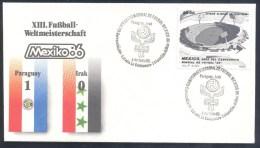 Football Soccer Fussball Calcio FIFA World Cup Mexico 1986 Weltmeisterschaft: Paraguay - Iraq 1:0 - World Cup