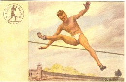 GERMANY Unused Olympic Postcard With Highjumping