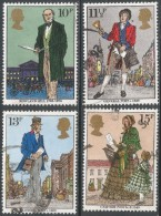 Great Britain. 1979 Death Centenary Of Sir Rowland Hill. Used Complete Set. SG 1095-1098 - Used Stamps