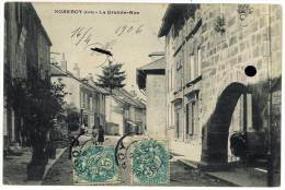 Nozeroy - La Grande Rue - France