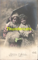 CPA  JEUNE FILLE ** RPPC REAL PHOTO POSTCARD YOUNG GIRL - Groupes D'enfants & Familles