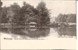 MANAGE « Vue Du Parc Du Château De La Cour Au Bois» - Ed. Allard-Tison, Manage - Manage