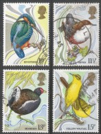 Great Britain. 1980 Centenary Of Wild Bird Protection Act. Used Complete Set. SG 1109-1112 - 1952-.... (Elizabeth II)