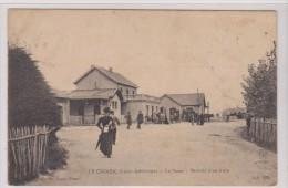 LE CROISIC. La Gare Arrivée B´un Train - Le Croisic