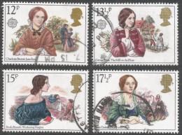 Great Britain. 1980 Famous Authoresses. Used Complete Set. SG 1125-1128 - 1952-.... (Elizabeth II)
