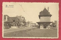 Westende - Station Des Tramways  ( Verso Zien ) - Westende