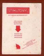 1 Buvard Stimutonyl - 13,5 X 10,5 Cm - Buvards, Protège-cahiers Illustrés