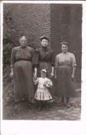 MARCHE-LEZ-ECAUSSINNES - Photo-carte De La (sous- Réserve D'autres Informations) Famille BOTTEMANNE (1908) - Ecaussinnes