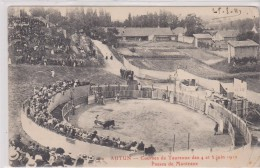 AUTUN. Courses De Taureaux 1911 - Autun