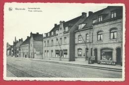 "Westende - Gemeentehuis / Place Communale  - Winkel "" A La Pantoufle ""   ( Verso Zien ) - Westende"