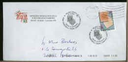ITALIA - MILANO -  PRIMI FRANCOBOLLI DEL REGNO LOMBARDO VENETO  Giorno Emissione - Stamps On Stamps