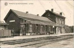 MARCHE-LEZ-ECAUSSINNES « La Gare» - Ed. Albert (1928) - Ecaussinnes