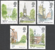 Great Britain. 1980 London Landmarks. Used Complete Set. SG 1120-1124 - 1952-.... (Elizabeth II)