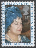 Great Britain. 1980 80th Birthday Of Queen Elizabeth The Queen Mother. 12p Used. SG 1129 - 1952-.... (Elizabeth II)