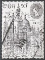 Great Britain. 1980 London 1980 International Stamp Exhibition. 50p Used (type II). SG 1118Ea - 1952-.... (Elizabeth II)