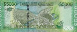 GUYANA P. 40 5000 D 2013 UNC - Guyana