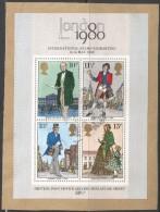 Great Britain. 1979 Death Centenary Of Sir Rowland Hill. Used Miniature Sheet On Piece. SG MS 1099 - 1952-.... (Elizabeth II)