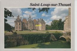 Saint Loup Sur Thouet  Le Chateau - France